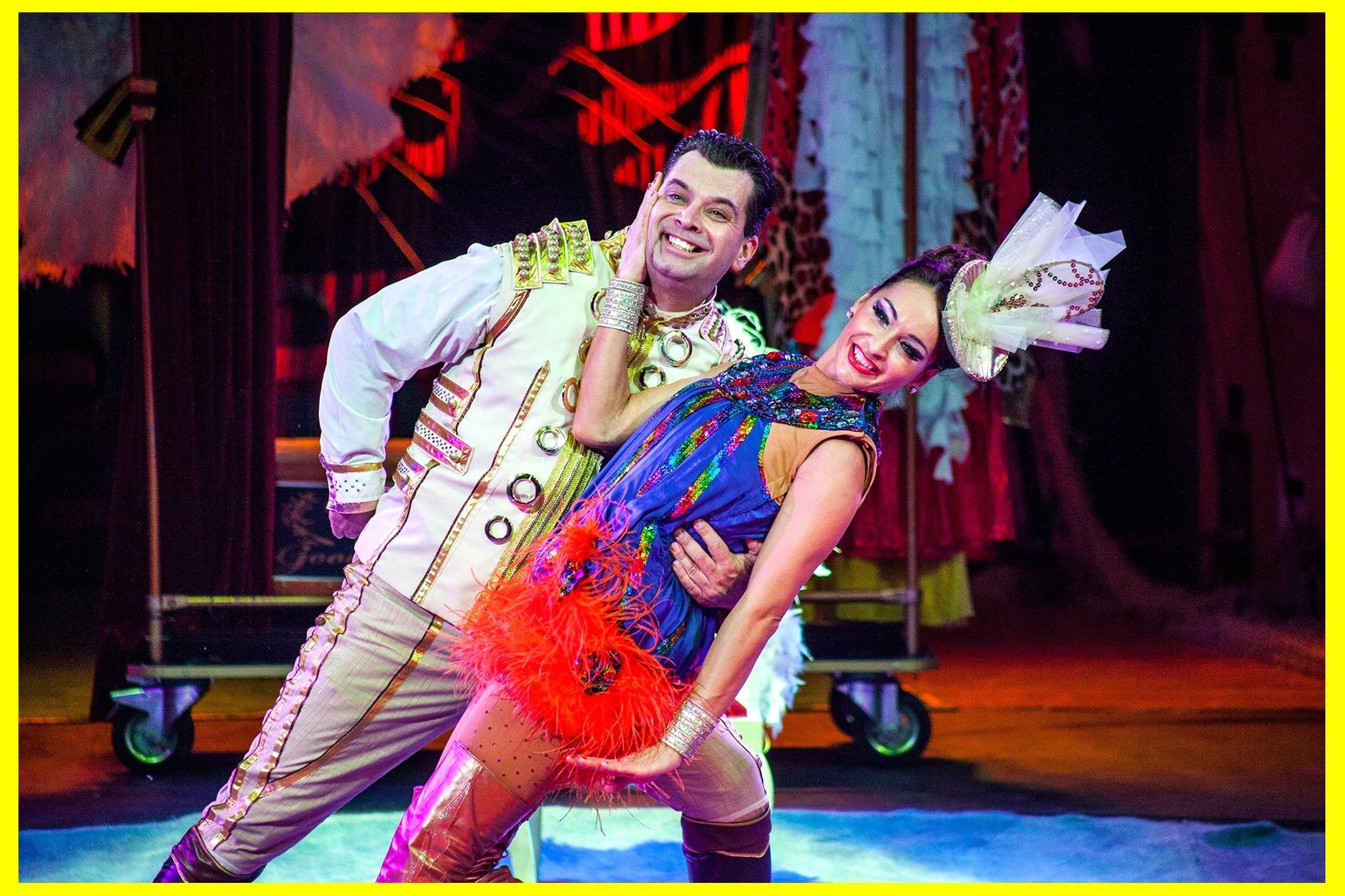 Circus Salto presenteert een nieuwe show
