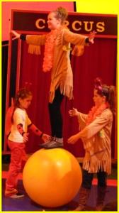 workshop circus op school