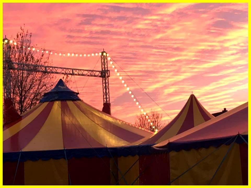 circustent van 16 te huur bij circus salto